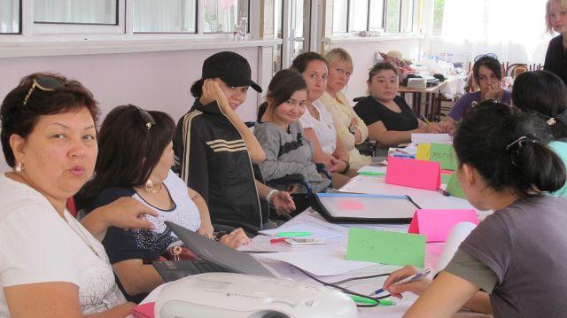 II Международный Лагерь для девушек инвалидностью Центральной Азии Август 2014